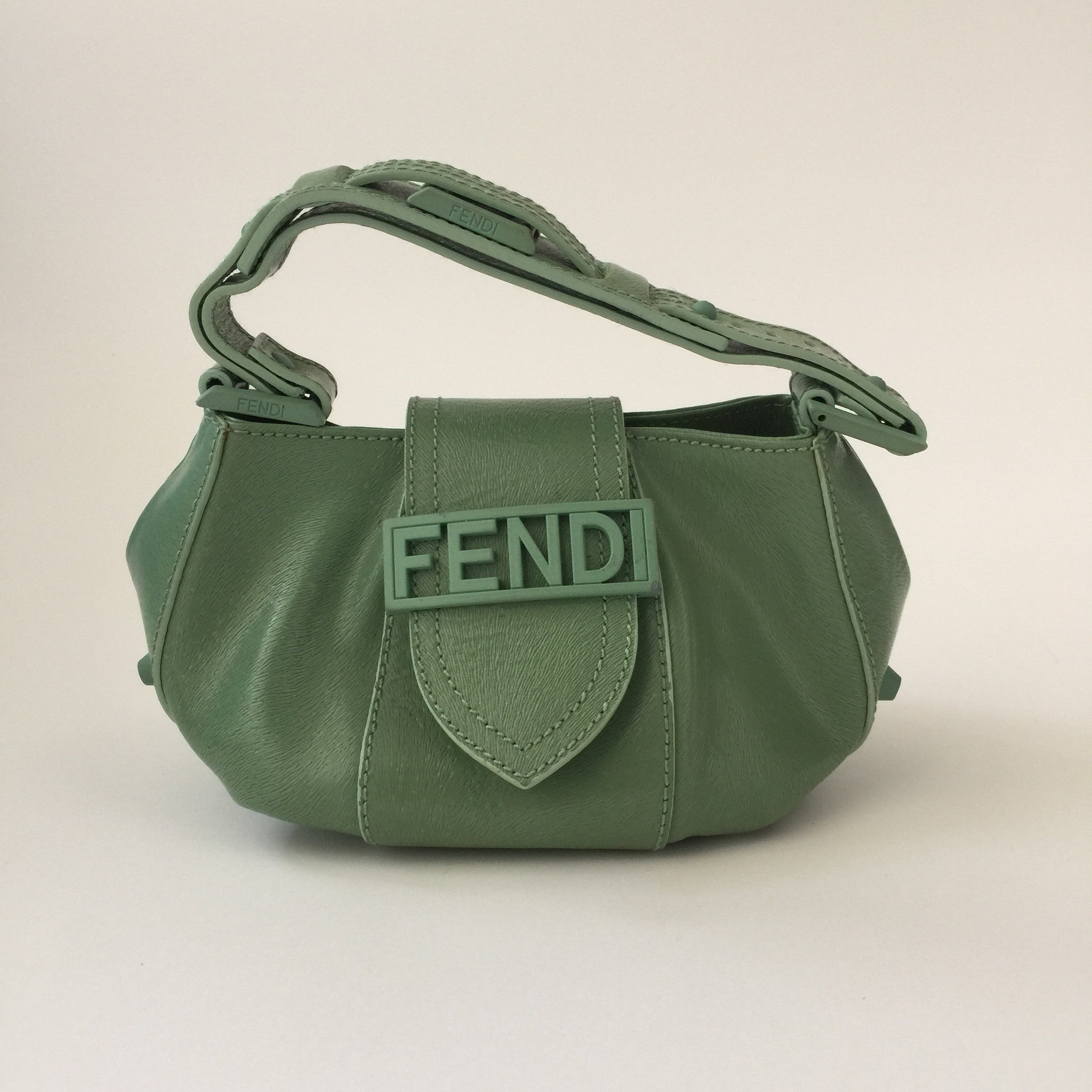 Authentic FENDI Small Leather Bag