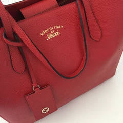 Authentic GUCCI Red Swing Tote