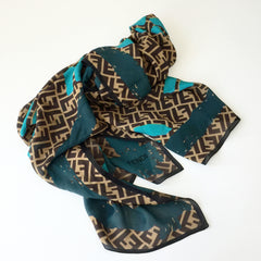 Authentic FENDI Silk Shawl