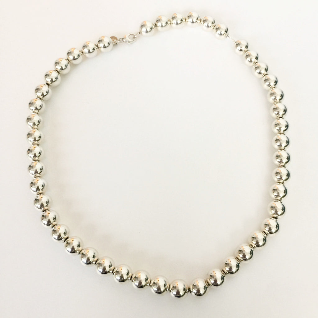 ba0f8caef652 Authentic TIFFANY & CO Bead Necklace