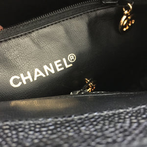 Authentic CHANEL Caviar Shoulder Bag