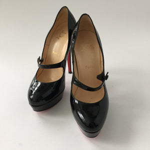 Authentic CHRISTIAN LOUBOUTIN Mary Jane Size 38.5