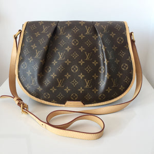 Authentic LOUIS VUITTON Menilmontant MM Crossbody