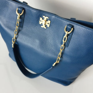 Authentic TORY BURCH Mercer Tote Navy