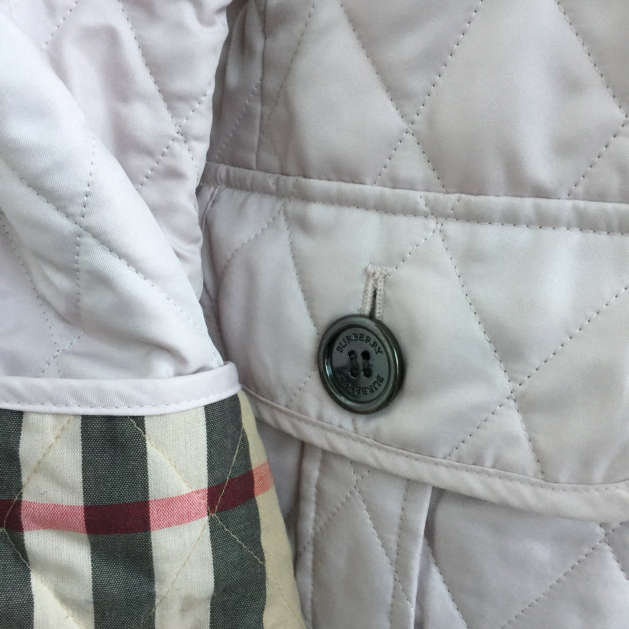 Authentic BURBERRY Quilted Jacket