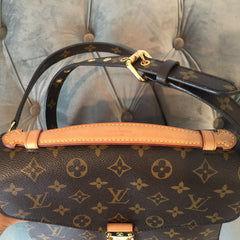 Authentic LOUIS VUITTON Pochette Metis