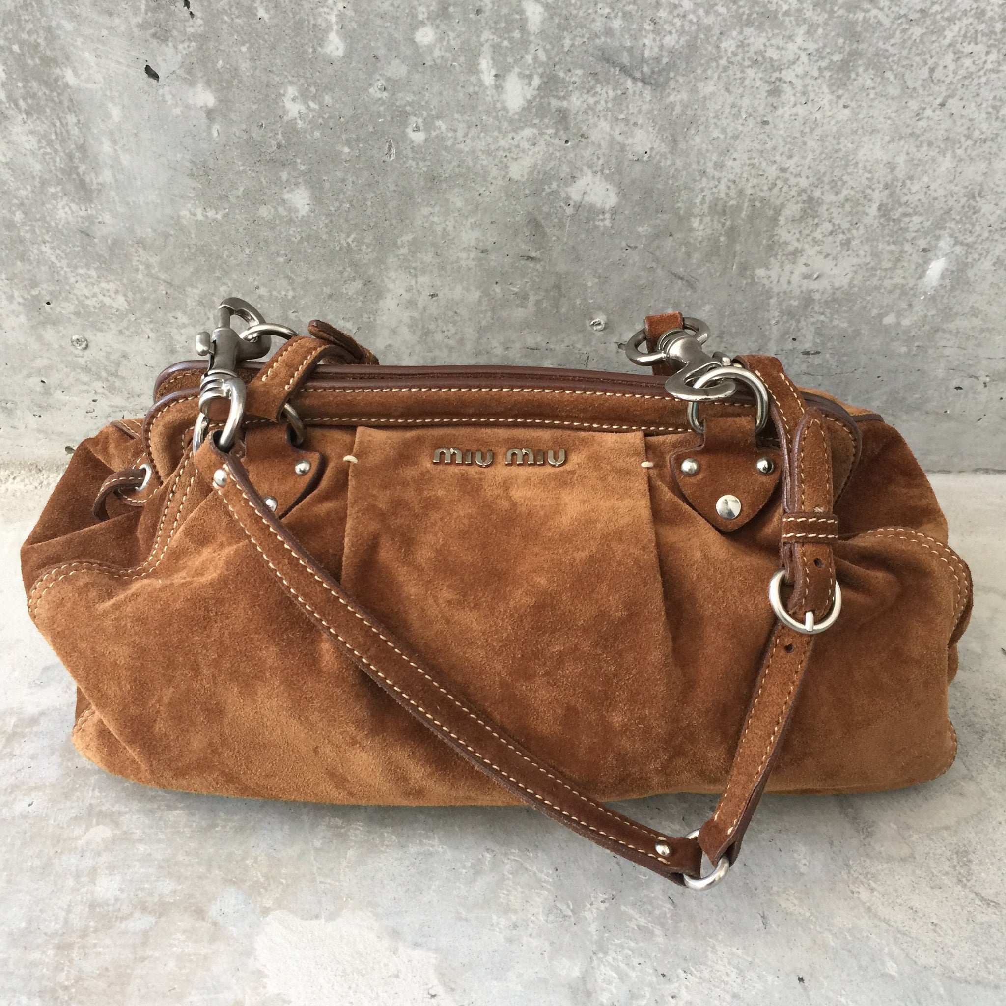 Authentic MIU MIU Suede Bag