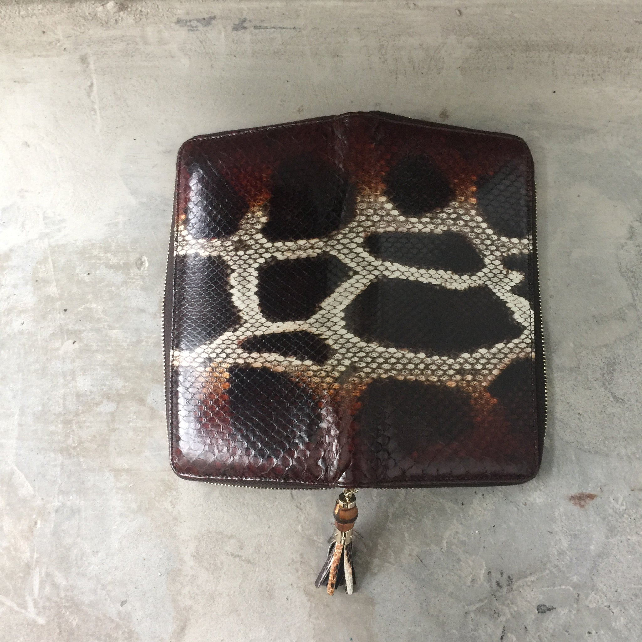 Authentic GUCCI Python Wallet