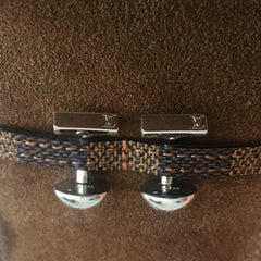 Authentic LOUIS VUITTON Cufflinks