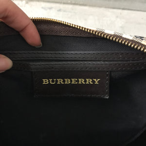 Authentic BURBERRY Chester Haymarket Bowling Bag