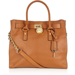 Authentic MICHAEL KORS Brown Hamilton Satchel