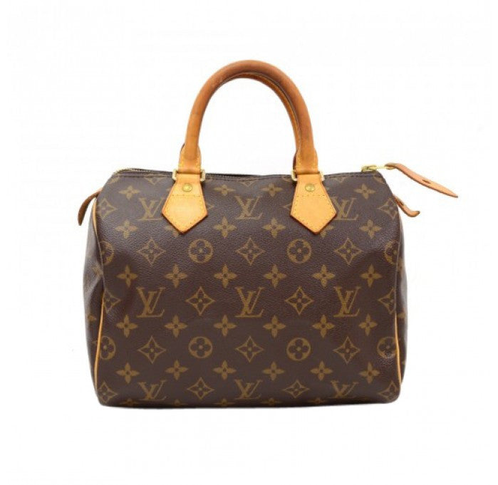 Authentic LOUIS VUITTON Monogram Speedy 25