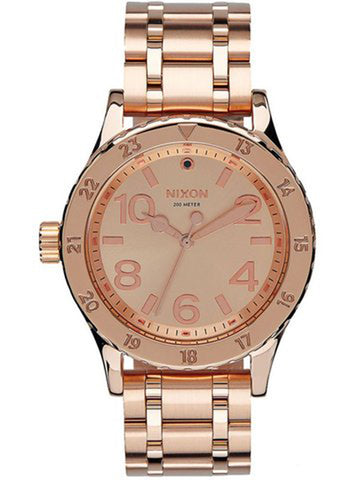 Authentic Nixon Rose Gold Watch