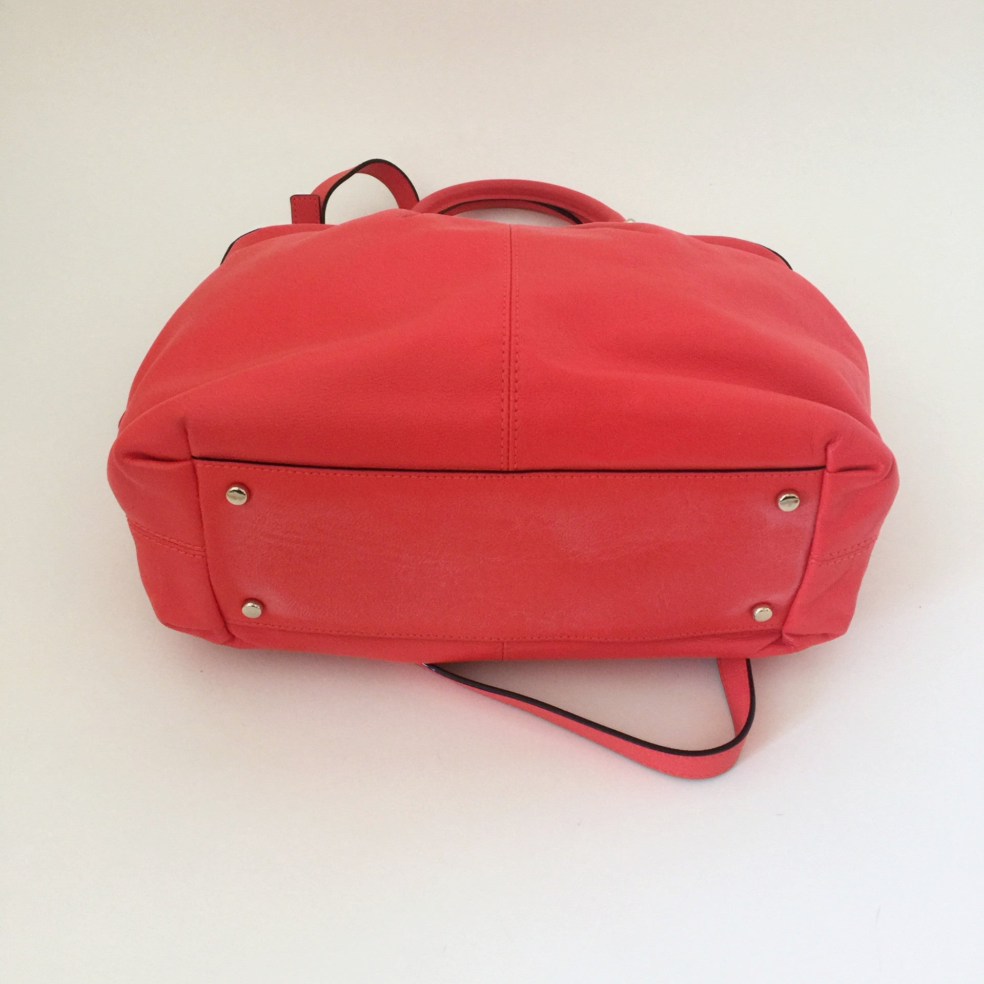Authentic KATE SPADE Fluorescent Coral Crossbody Handbag