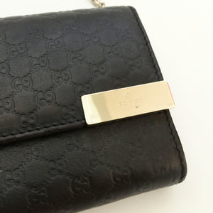 Authentic GUCCI Wallet with Chain