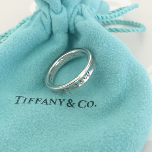 Authentic TIFFANY & CO 1837 Ring Size 6.5