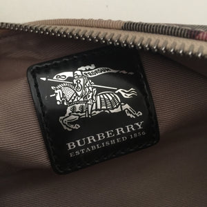 Authentic BURBERRY Small Novacheck Handbag