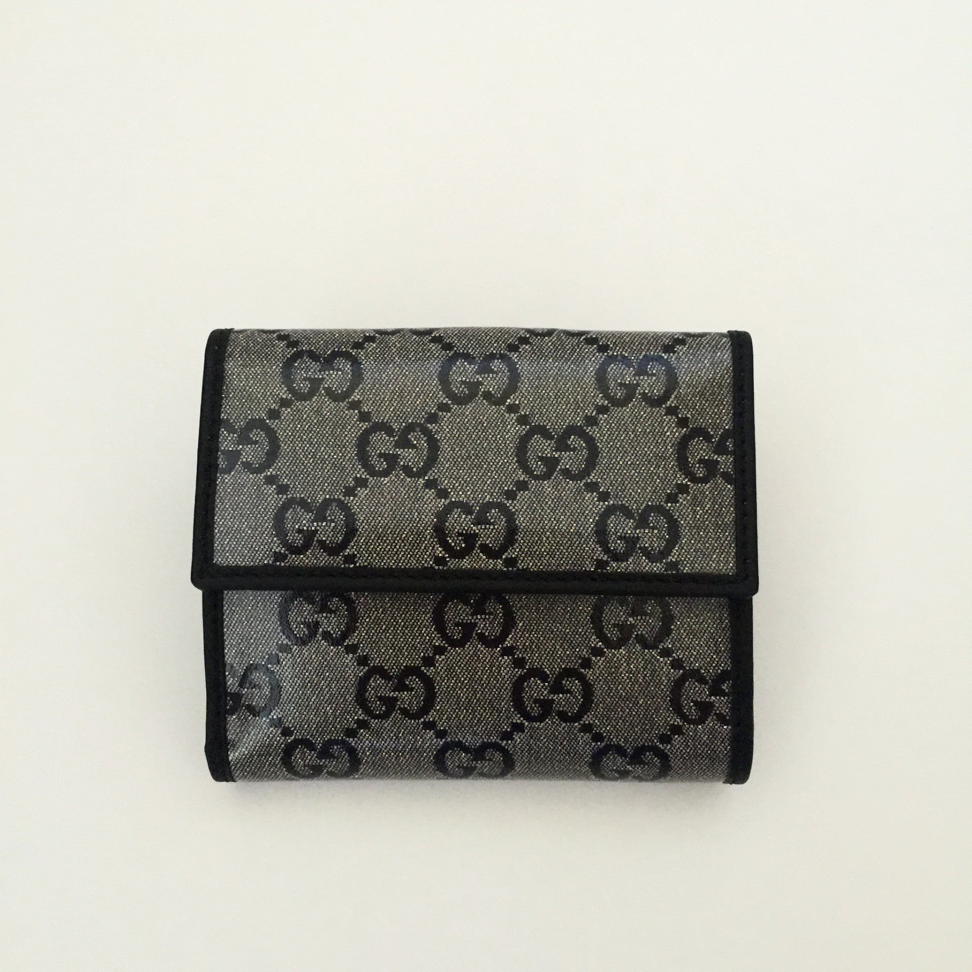 Authentic GUCCI Crystal Compact Wallet