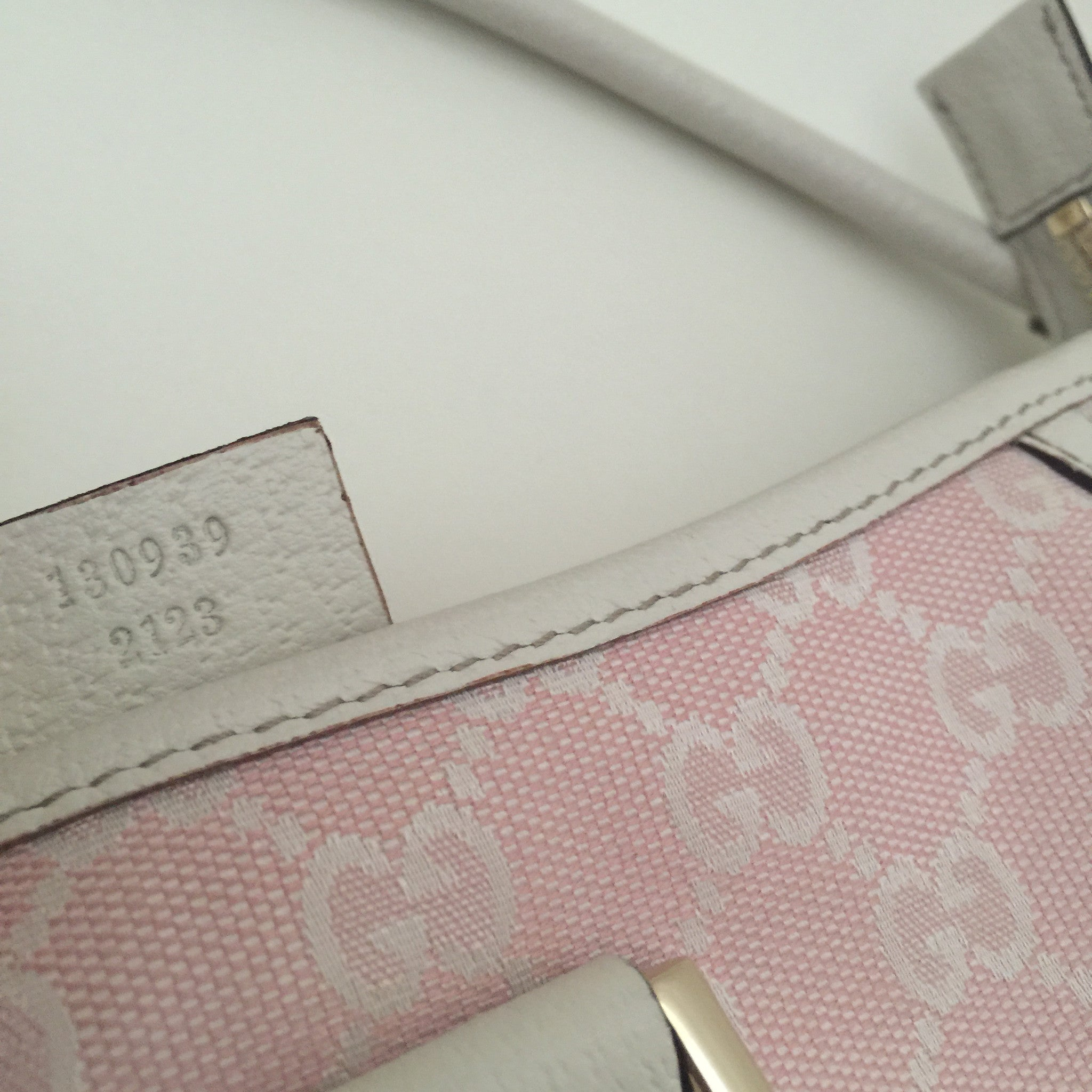 Authentic GUCCI Pink Small Handbag