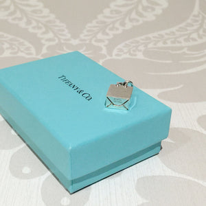 Authentic TIFFANY & CO Shopping Bag Charm