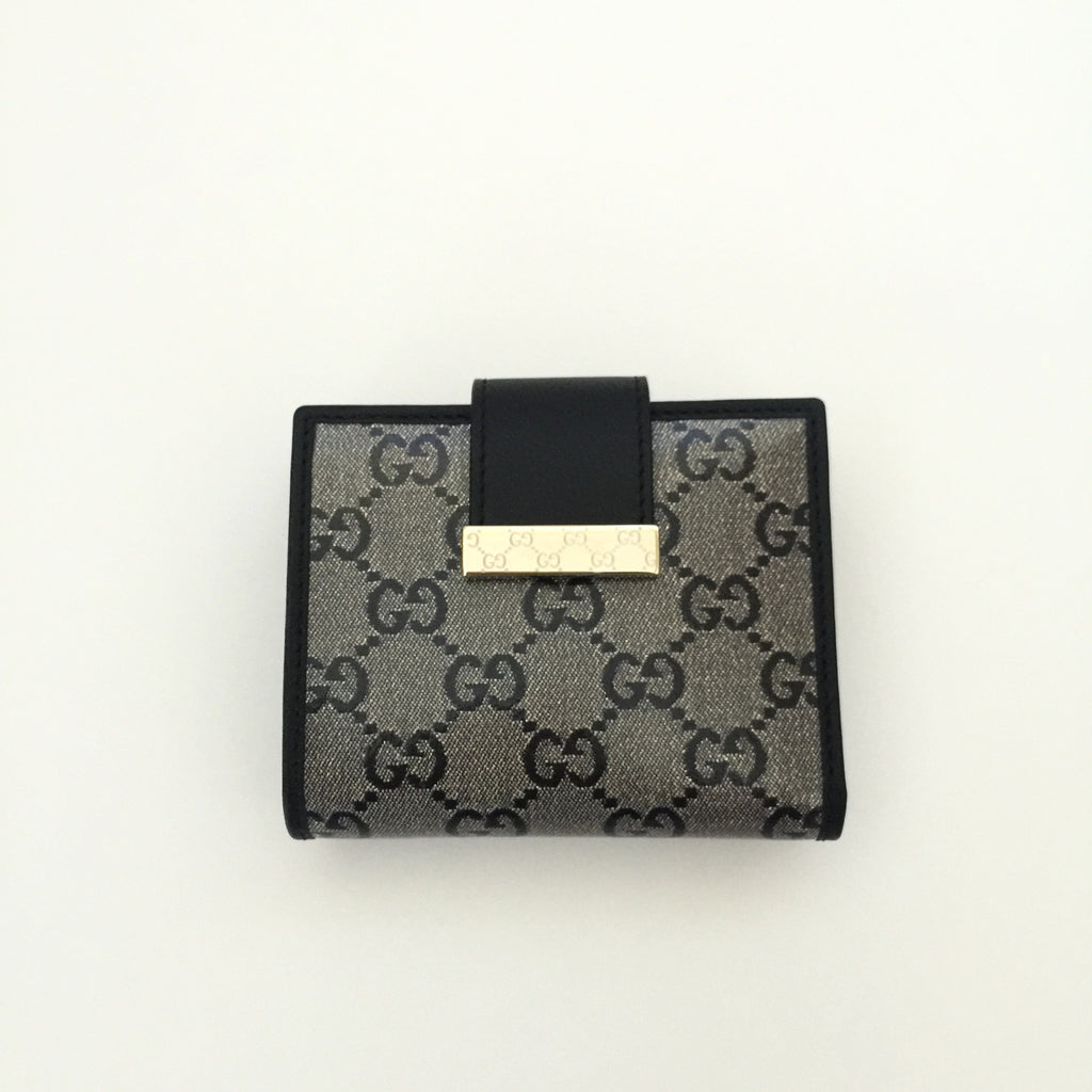 81d1508e72f2 Authentic GUCCI Crystal Compact Wallet