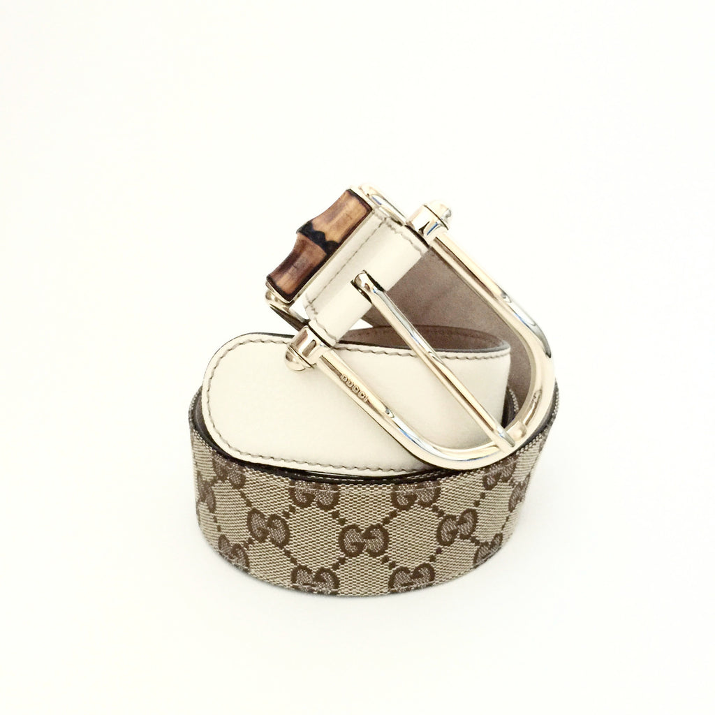 d08735ee624d Authentic GUCCI Bamboo Belt size 90/36