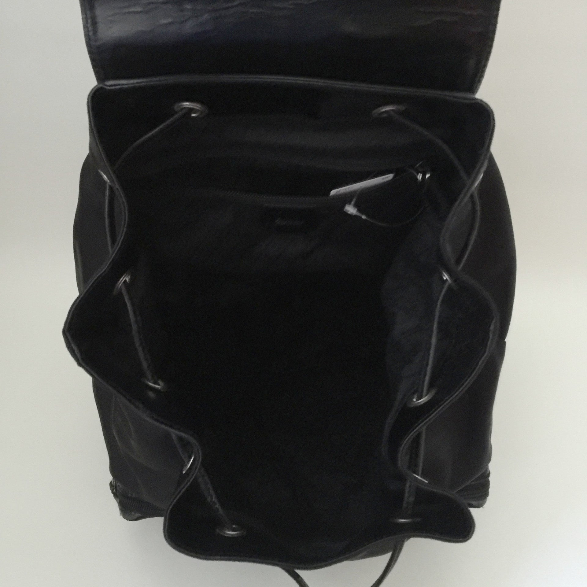 Authentic GUCCI Vintage Black Backpack