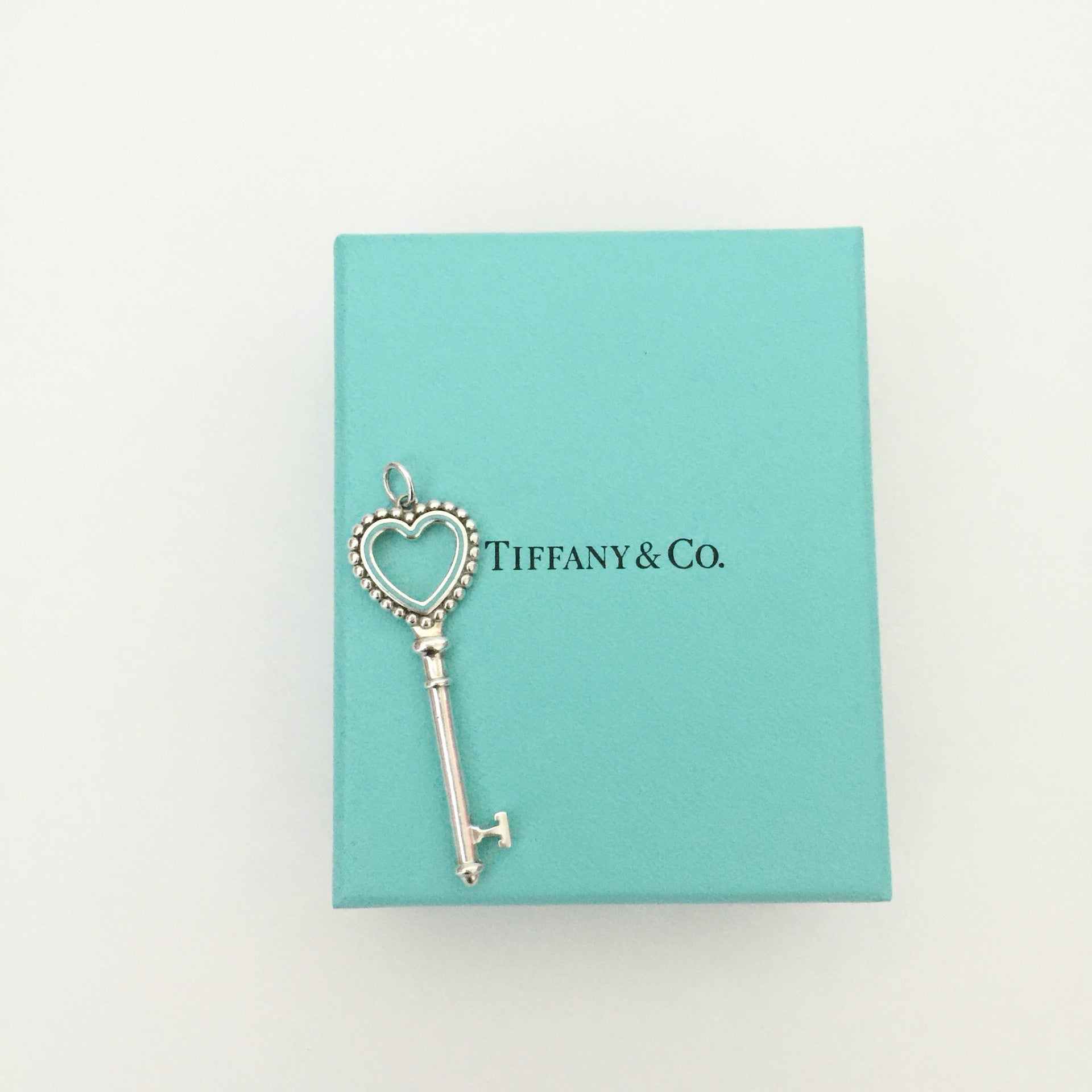 Authentic TIFFANY & CO Key Pendant