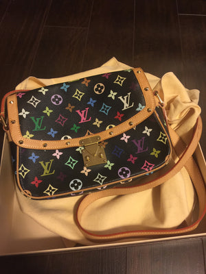 Authentic LOUIS VUITTON Multicolour Crossbody