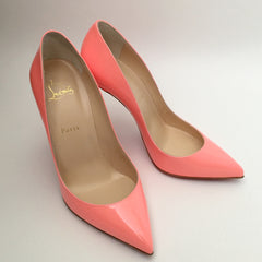 Authentic CHRISTIAN LOUBOUTIN Flamingo Pigalle Follies pumps 39.5
