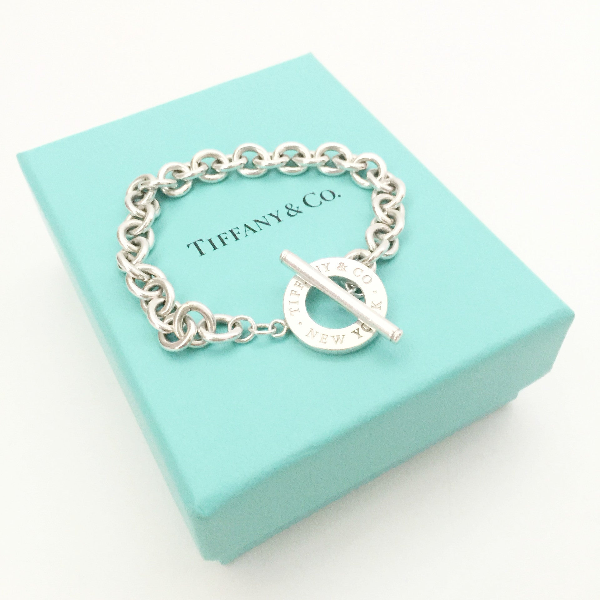 Authentic TIFFANY & CO Toggle Bracelet