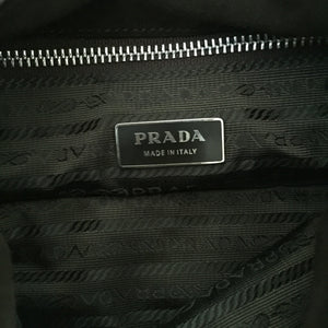 Authentic PRADA Brown Suede Handbag
