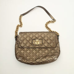 Authentic MARC JACOBS Metallic Gold Chain Bag