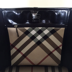 Authentic BURBERRY Check Tote Bag