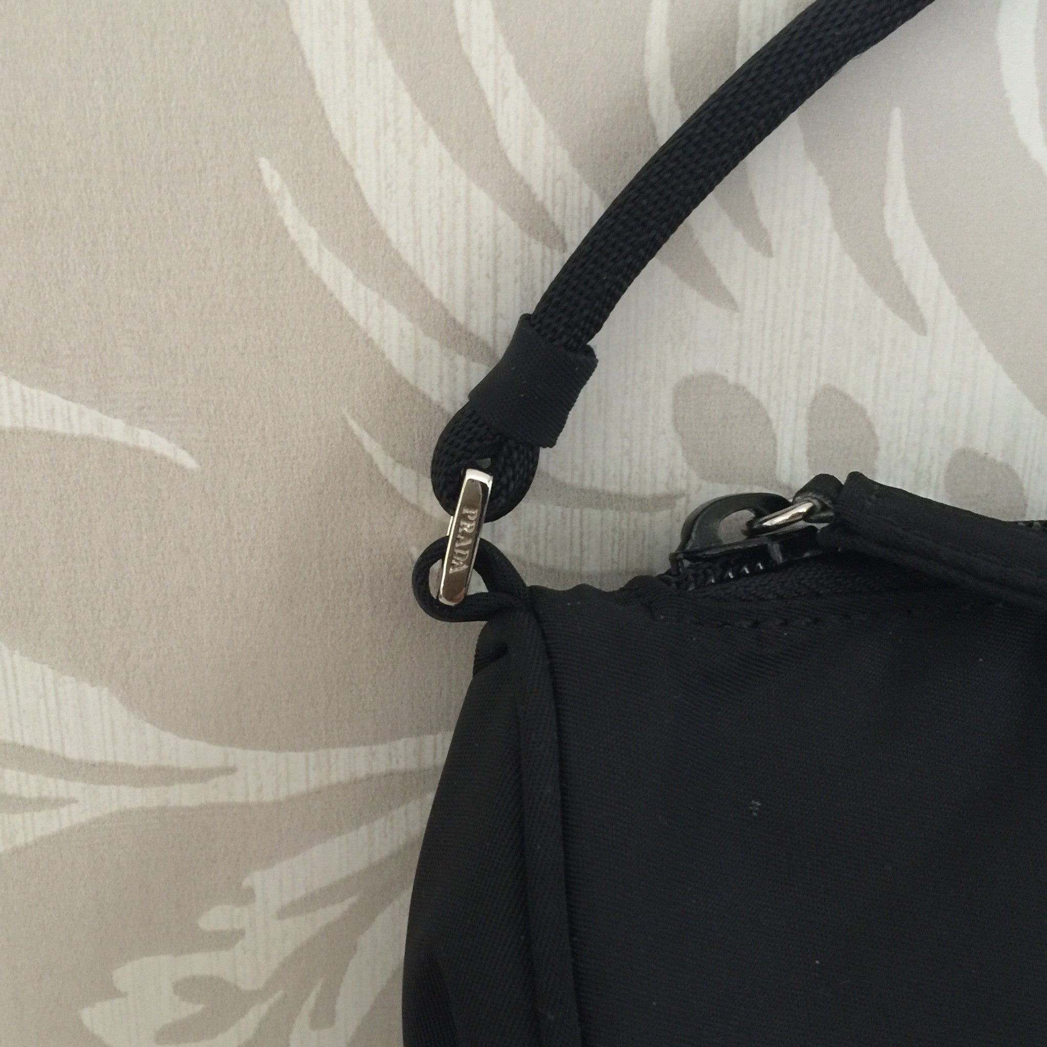 Authentic PRADA Small Black Handbag