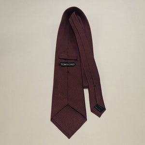 Authentic TOM FORD Burgundy Tie