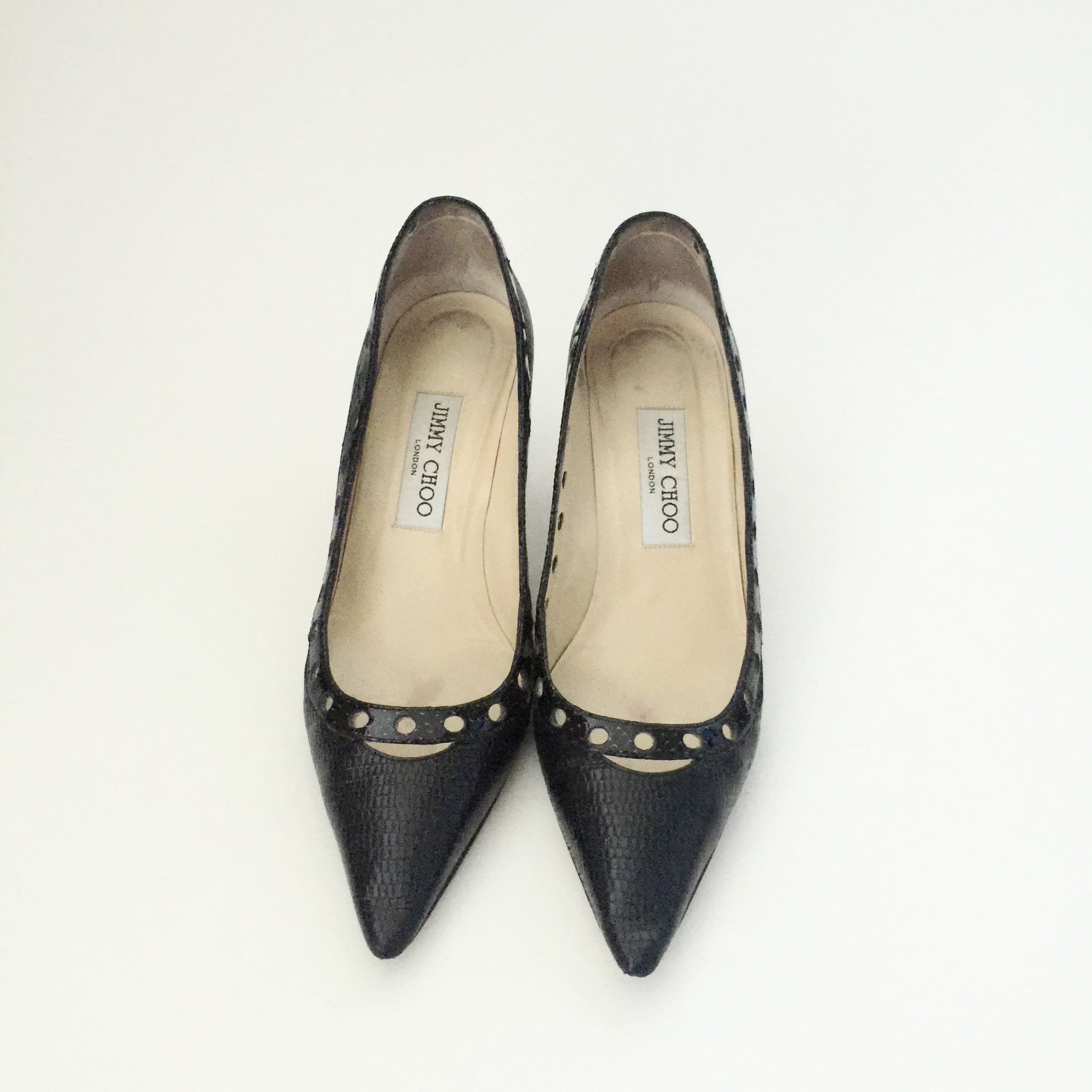 Authentic JIMMY CHOO Black Pumps Size 37