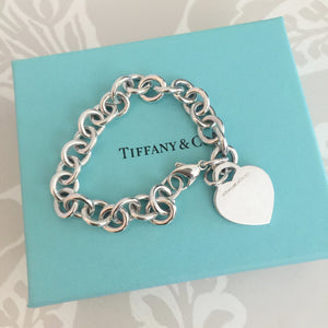 Authentic TIFFANY & CO 1837 Heart Tag Bracelet