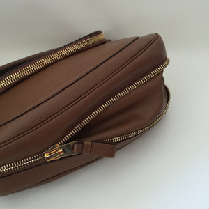 Authentic TOM FORD Large Caramel Jennifer Flap Top Bag