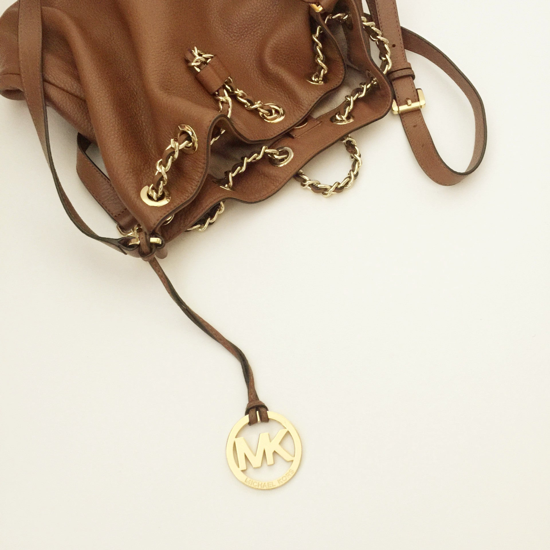 Authentic MICHAEL KORS Frankie Drawstring Bag