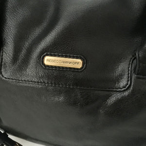 Authentic REBECCA MINKOFF Black Leather Bag