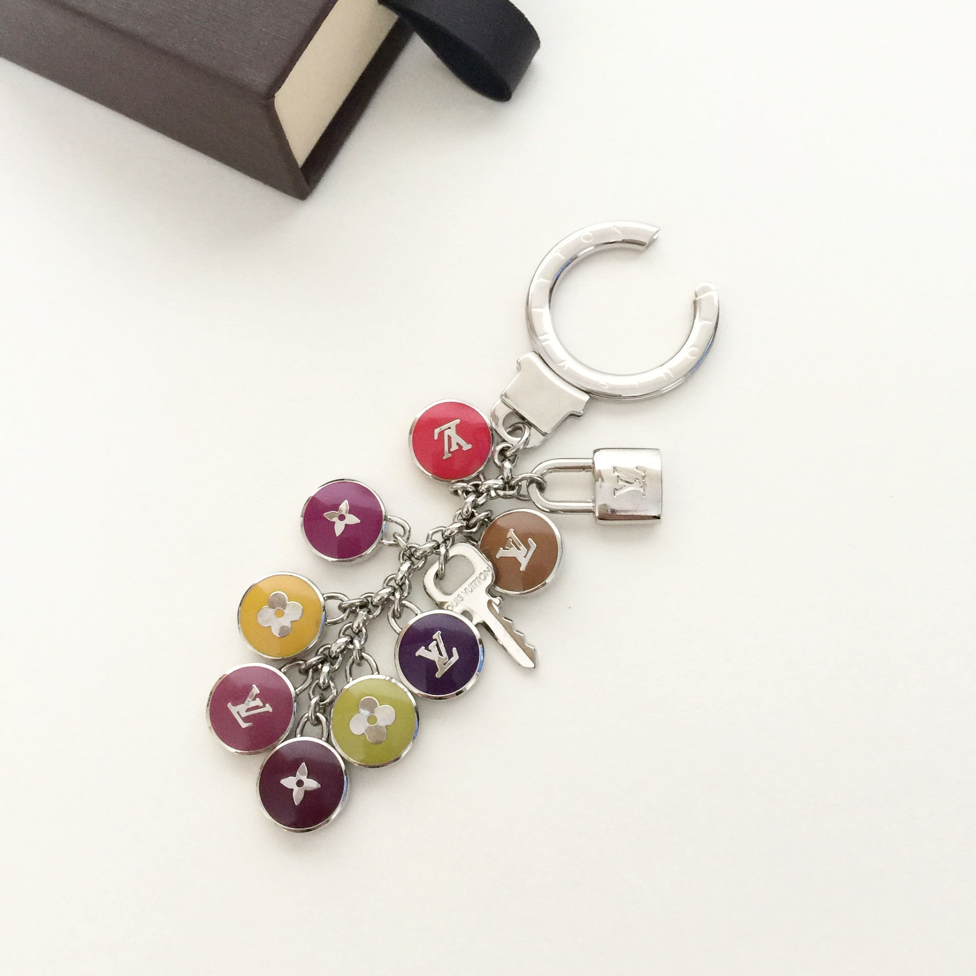 Authentic LOUIS VUITTON Key Bag Charm
