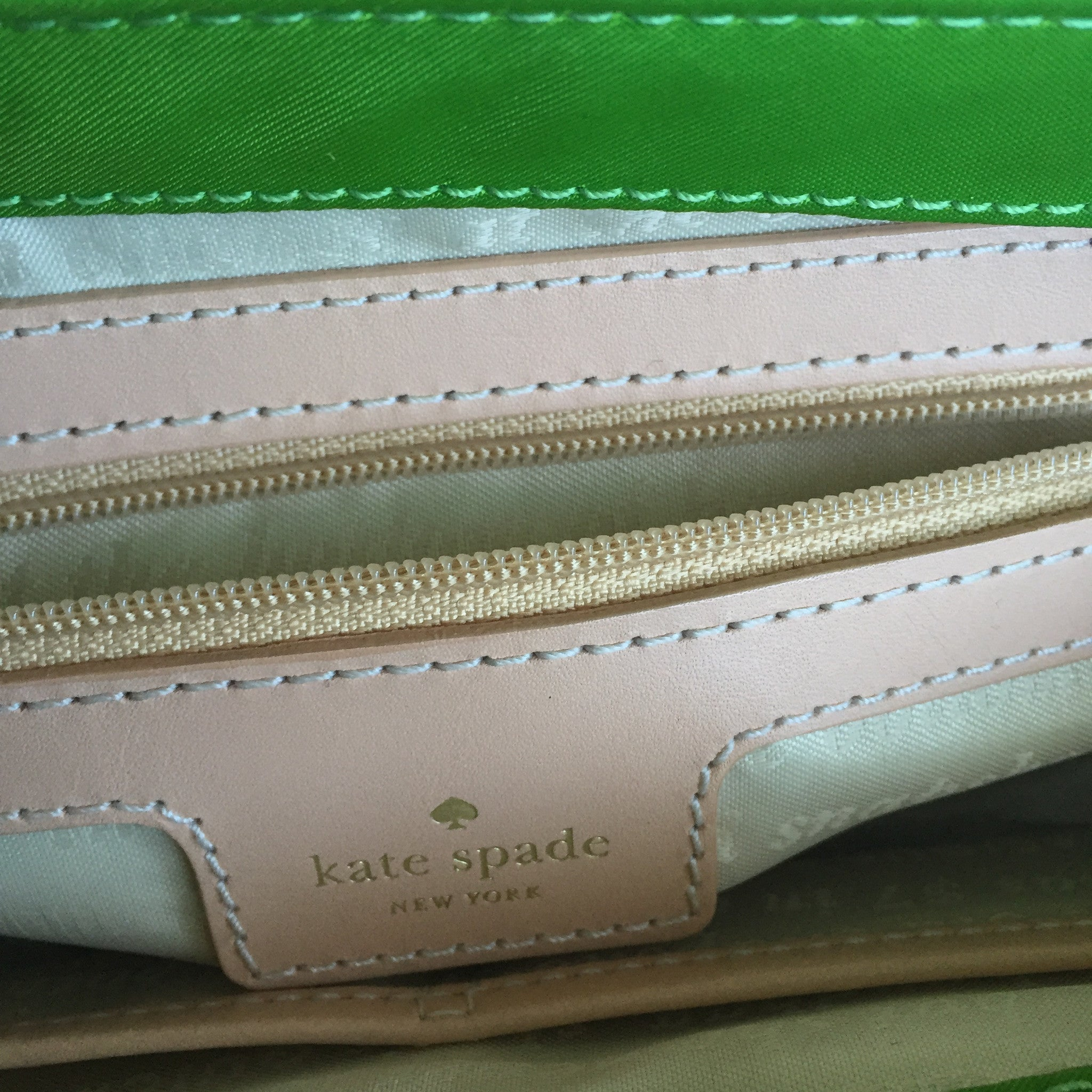 Authentic KATE SPADE Vibrant Green Crossbody
