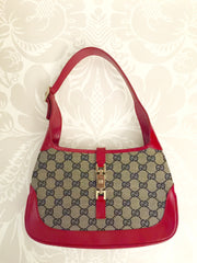Authentic GUCCI Jackie-O Bouvier Small Hobo Handbag