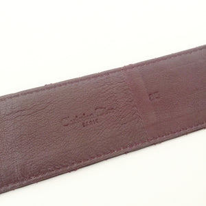 Authentic CHRISTIAN DIOR Cannage Belt Size 85/36