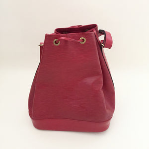 Authentic LOUIS VUITTON Epi Noe Red GM