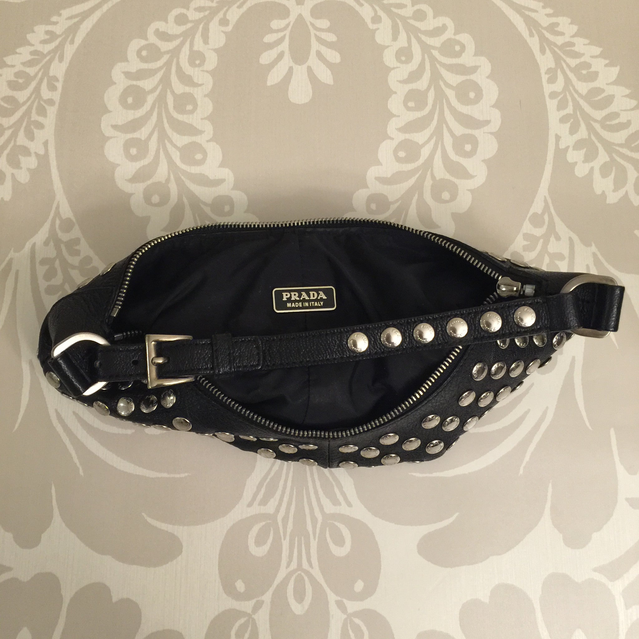 Authentic PRADA Mini Hobo Bag