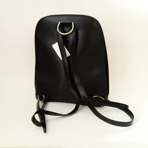 Authentic LOUIS VUITTON Black Epi Backpack