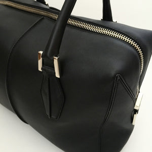 Authentic TODS Black Balletto Medio Handbag/Satchel