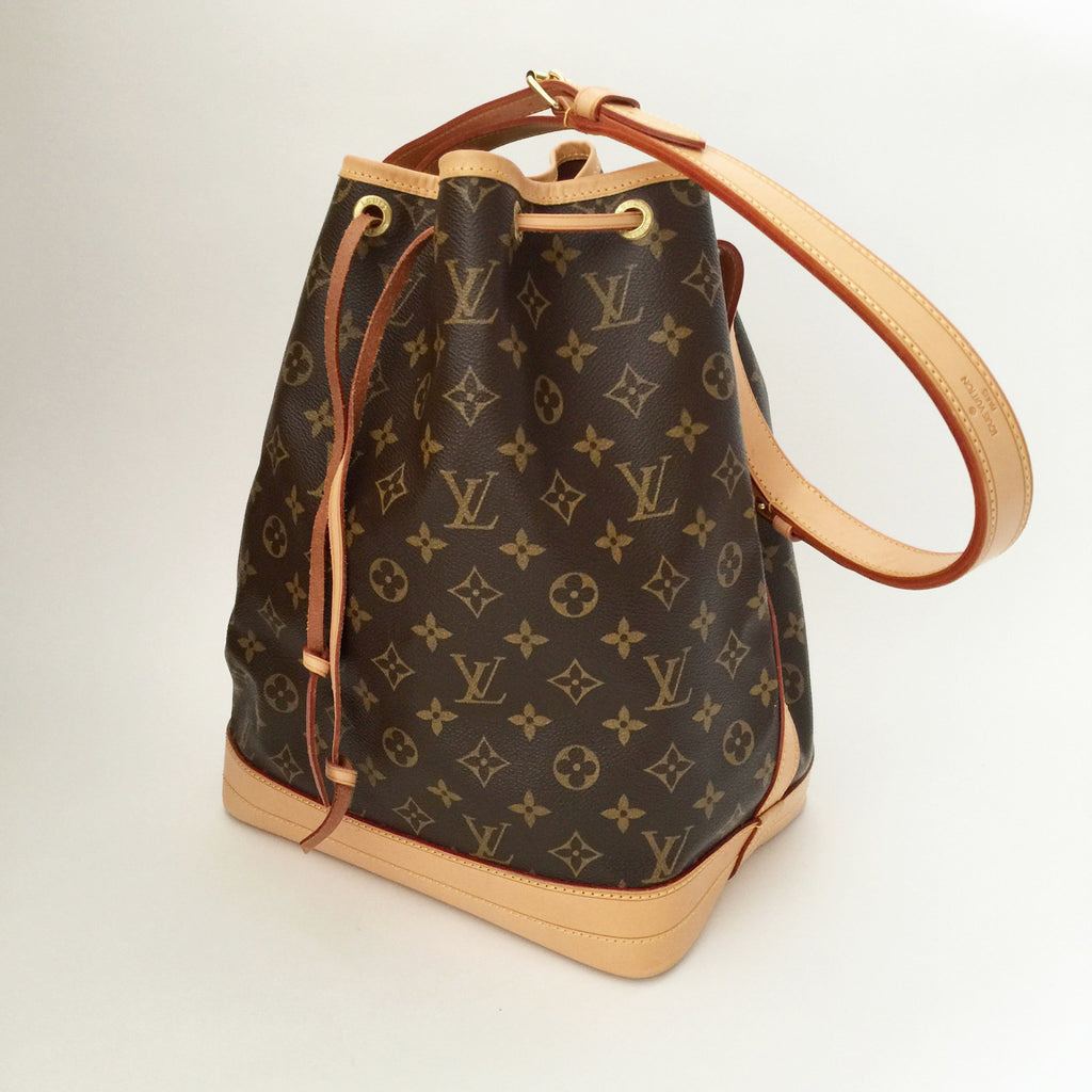authentic louis vuitton monogram noe gm bucket bag valamode. Black Bedroom Furniture Sets. Home Design Ideas
